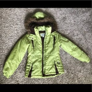 London Fog girls' winter coat